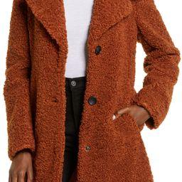 Faux Fur Teddy Coat   Nordstrom