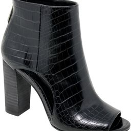 Fable Cutout Open Toe Bootie   Nordstrom