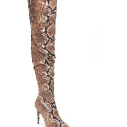 Lyrelle Pointy Toe Slouchy Knee High Boot | Nordstrom