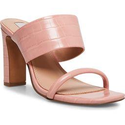 Jive Croc Embossed Slip On Sandal | Nordstrom