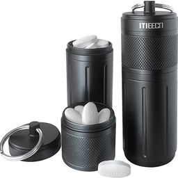 MEECN Two-layer Pill Organizer, Waterproof Pill Container, Pill Holder can store pills anything s... | Amazon (US)