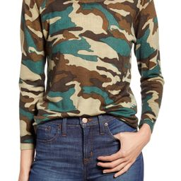 Camo Print Merino Wool Sweater | Nordstrom