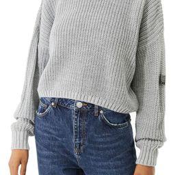 Shaker Stitch Crop Sweater | Nordstrom