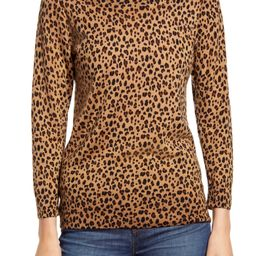 Leopard Print Merino Wool Sweater | Nordstrom