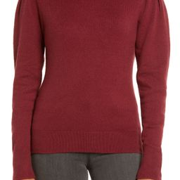 Rachell Parcell Puff Shoulder Turtleneck Sweater | Nordstrom
