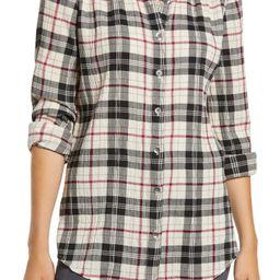Plaid Tunic Shirt | Nordstrom