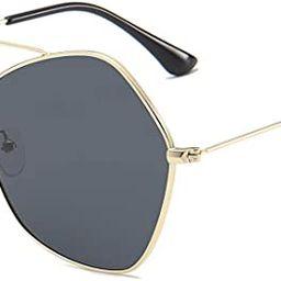 SOJOS Polarized Sunglasses for Women Large Ultra Light Hexagonal Glasses NIMBUS SJ1125 | Amazon (US)