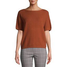Time and Tru - Time and Tru Women's Short Sleeve Sweater - Walmart.com | Walmart (US)
