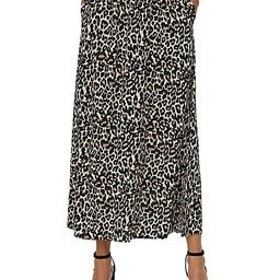 Simple Easy Leopard-Print Midi Skirt   The Bay