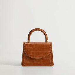 Rigid mini bag | MANGO (US)