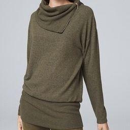 Funnel Neck Knit Tunic | White House Black Market