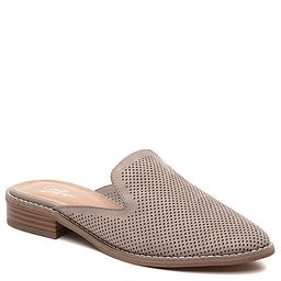 Crown Vintage Lacertae Mule - Women's - Grey Perforated Faux Suede   DSW