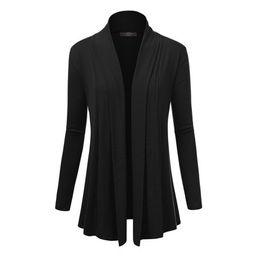 MBJ Womens Open Draped Knit Shawl Cardigan ( XS - XXXL )   Walmart (US)