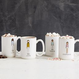 Personalized Family Mugs | UncommonGoods