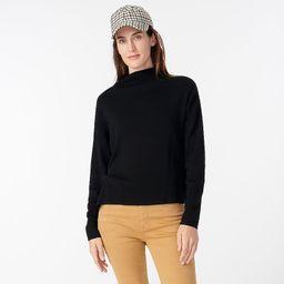 Ribbed mockneck sweater   J.Crew US