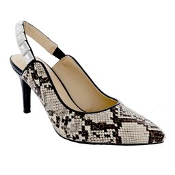 Penny Loves Kenny Women's Pumps Natural - Natural Snake Aught Pump - Women   Zulily