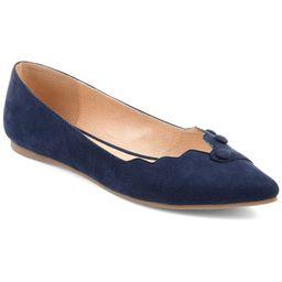 Journee Collection Mila Women's Flats, Size: Medium (6), Blue   Kohl's