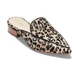 Cole Haan Women's Mules MINI - Cheetah Piper Calf Hair Mule - Women   Zulily