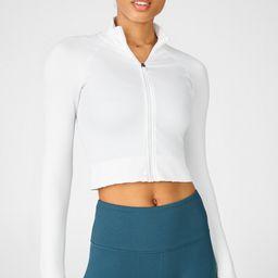 Luciana Rib Seamless Long-Sleeve Zip Up   Fabletics