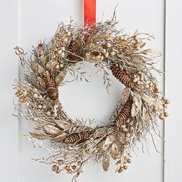 Gilded Age Metallic Berry & Branch Wreath, Created for Macy's | Macys (US)