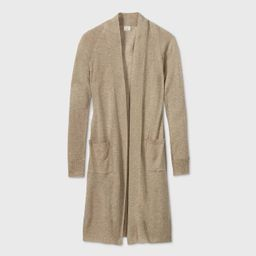 Women's Linen Blend Duster Cardigan - A New Day™   Target