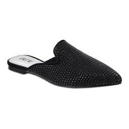 MIA Shoes Women's Mules BLACK - Black Chasity Mule - Women   Zulily