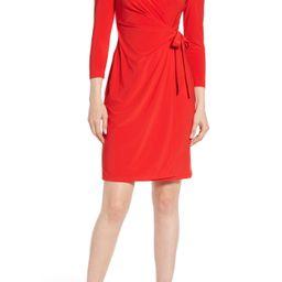 Women's Anne Klein Wrap Dress | Nordstrom
