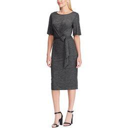Women's Chaps Faux Wrap Sheath Dress, Size: Medium, Med Grey | Kohl's