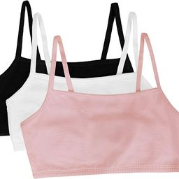 Fruit of the Loom Women's Cotton Pullover Sport Bra(Pack of 3) | Amazon (US)