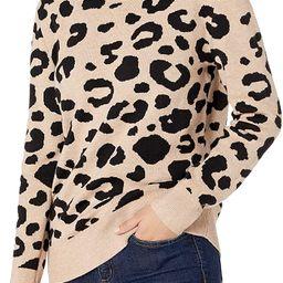 Amazon Brand - Daily Ritual Women's Ultra-Soft Jacquard Crewneck Pullover Sweater | Amazon (US)