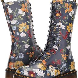 Dr. Martens Womens 1B99 Darcy Floral Print Originals Core Ankle Boots - Navy - 5 | Amazon (US)