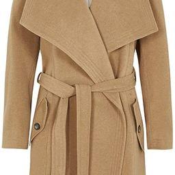 De La Creme -Women`s Winter Wool Cashmere Wrap Coat with Large Collar | Amazon (US)