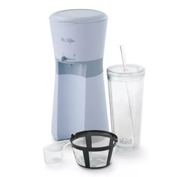 Mr. Coffee Iced Coffee Maker with Reusable Tumbler and Coffee Filter | Target