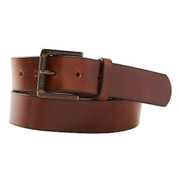 Leather Roller-Buckle Casual Belt | Banana Republic Factory