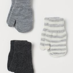 3-pack Mittens | H&M (US)