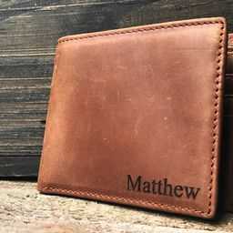 Personalized leather Wallet, Personalized wallet, personalized wallet for men, personalized mens ... | Etsy (US)