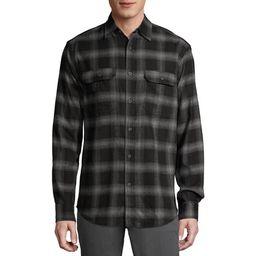 George Men's and Big Men's Super Soft Flannel Shirt, up to 5XLT | Walmart (US)