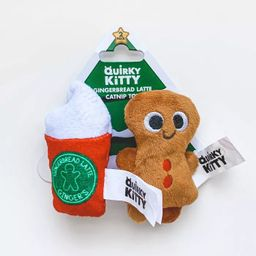 Quirky Kitty Gingerbread Latte Holiday Cat Toy | Target