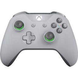 Microsoft Xbox One Wireless Controller (Gray/Green) | Walmart (US)
