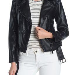 Elodie   Faux Leather Moto Jacket   Nordstrom Rack   Nordstrom Rack