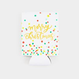 Merry Christmas Confetti Coozie | Francesca's Collections
