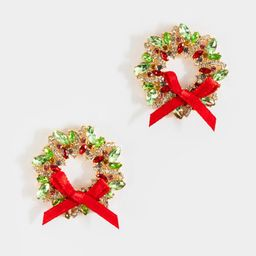 Crystal Wreath Statement Studs | Francesca's Collections