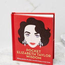 Pocket Elizabeth Taylor Wisdom Book | Red Dress