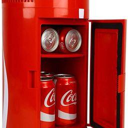 Coca-Cola Portable 8 Can Thermoelectric Mini Fridge 5.4 L/ 5.7 Quarts Capacity, 12V DC/110V AC Co...   Amazon (US)