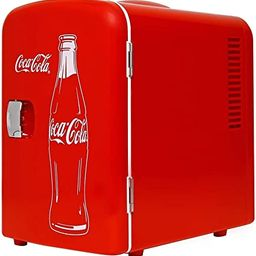 Coca-Cola Classic Portable 6 Can Thermoelectric Mini Fridge Cooler/Warmer, 4 L/4.2 Quarts Capacit...   Amazon (US)