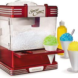 Nostalgia RSM602 Countertop Snow Cone Maker Makes 20 Icy Treats, Includes 2 Reusable Plastic Cups...   Amazon (US)