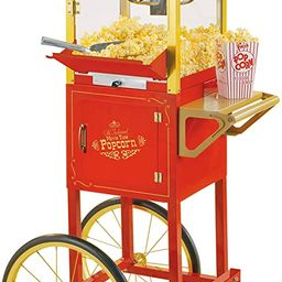 Nostalgia Concession CCP510 Vintage Professional Popcorn Cart-New 8-Ounce Kettle-53 Inches Tall-R...   Amazon (US)