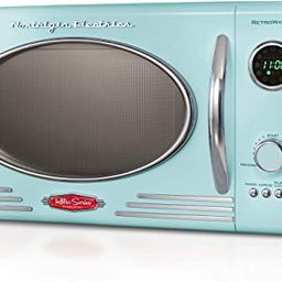 Nostalgia RMO4AQ Retro Large 0.9 cu ft, 800-Watt Countertop Microwave Oven, 12 Pre-Programmed Coo...   Amazon (US)