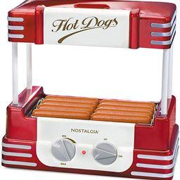 Nostalgia RHD800 Hot Dog Roller and Bun Warmer, 8 Hot Dog and 6 Bun Capacity   Amazon (US)