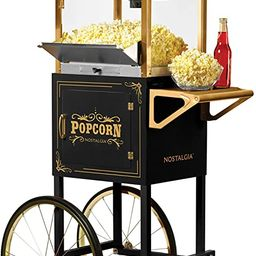 """Nostalgia Vintage 10-Ounce Professional Popcorn and Concession Cart   59"""" Tall, Makes 40 Cups of ...   Amazon (US)"""